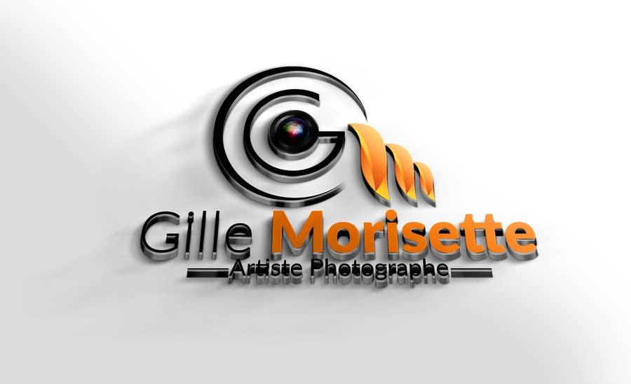 Proposition n°                                        37                                      du concours                                         Concevez un logo Gille Morisette Artiste Photographe