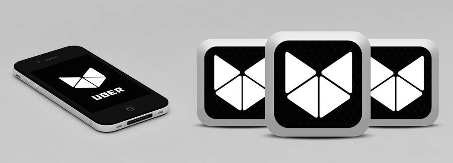 Contest Entry #                                        87                                      for                                         Design Challenge: Submit Your Own Version of Uber's New App Icon