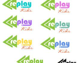 #13 para Design a Logo for Replay Kids por fadzkhan