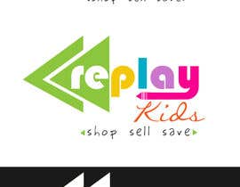 #72 para Design a Logo for Replay Kids por fadzkhan