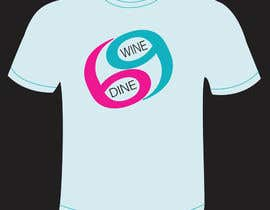 #47 for Simple T-Shirt Design for Wine Dine 69 by Valarie7
