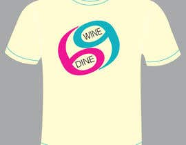 #48 for Simple T-Shirt Design for Wine Dine 69 by Valarie7
