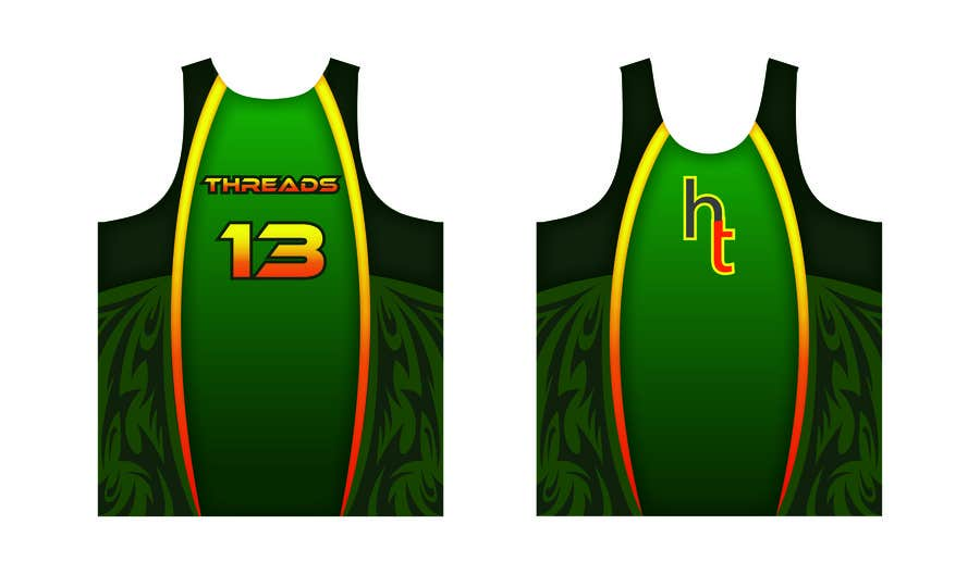 #48 for Design a Running Singlet by janouisgraphics