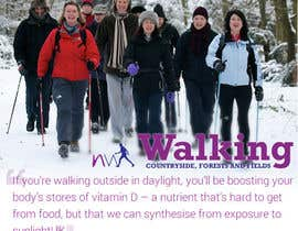 #19 for Design a Logo for Nordic Walking East London af dezcreation