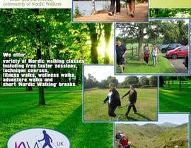#22 for Design a Logo for Nordic Walking East London by silverpendesigns