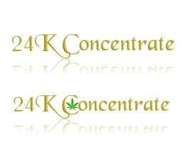 #4 for Design logo for 24K Concentrate af Mandysmith