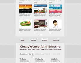 #9 for Design a Website Mockup for ONE page by rameezkhan2234