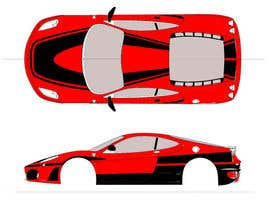 #2 para Design Car Vinyl/Sticker for Ferrari F430 por inkpotstudios