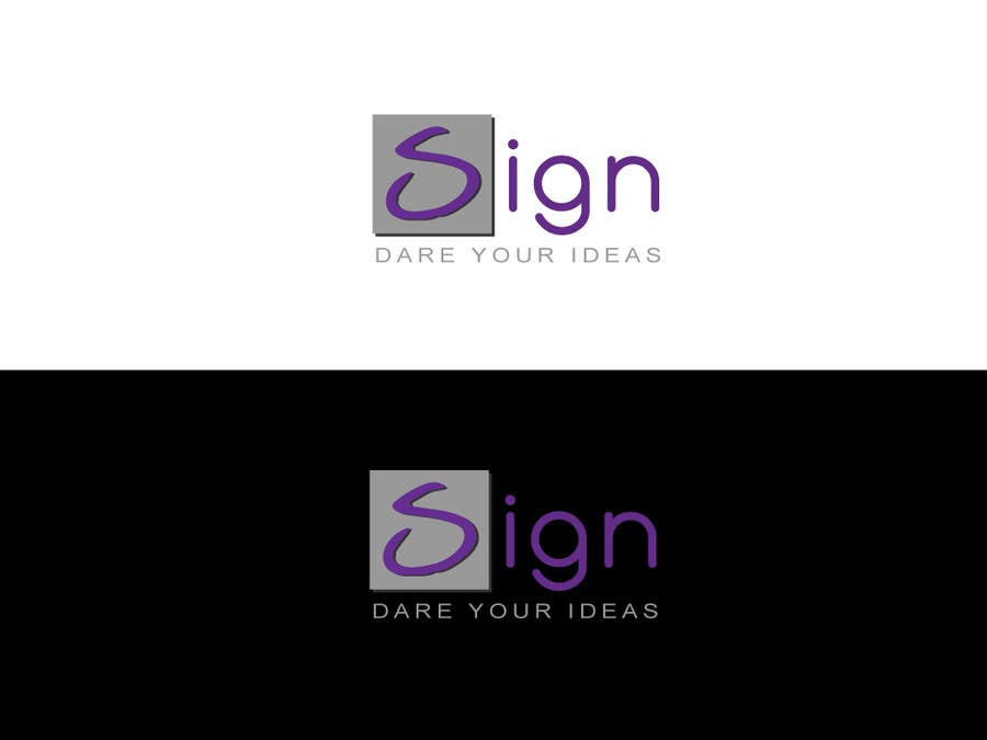 #218 for Design a logo for SIGN: the platform that funds citizens projects by Kkeroll