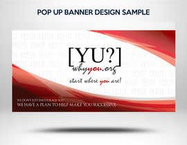 #12 for Design Pop-up 10x20ft Display Banner and Podium Graphics by FirstCreative
