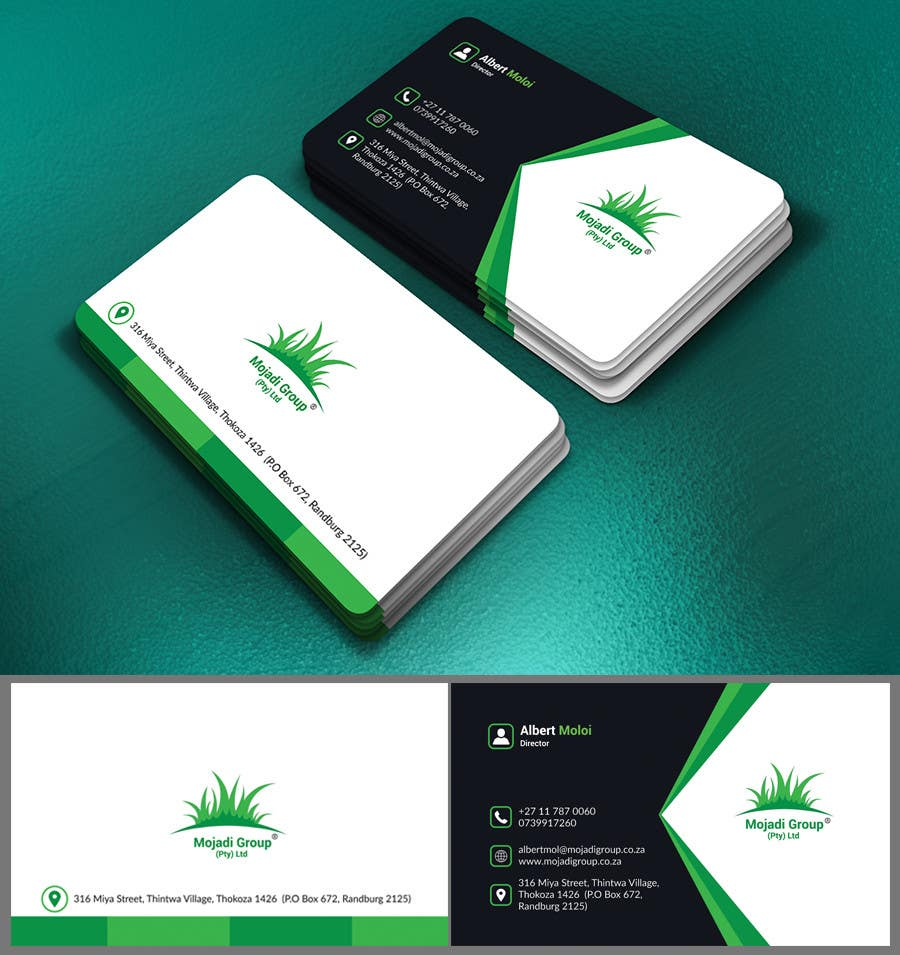 Famous environmental business cards gallery business card ideas entry 15 by nasir34 for design a letterhead and business card for reheart Gallery