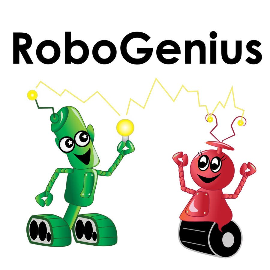 #7 for Design a Logo for RoboGenius by ckillustrations
