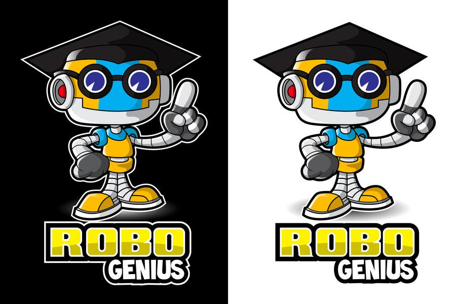 #60 for Design a Logo for RoboGenius by MyPrints