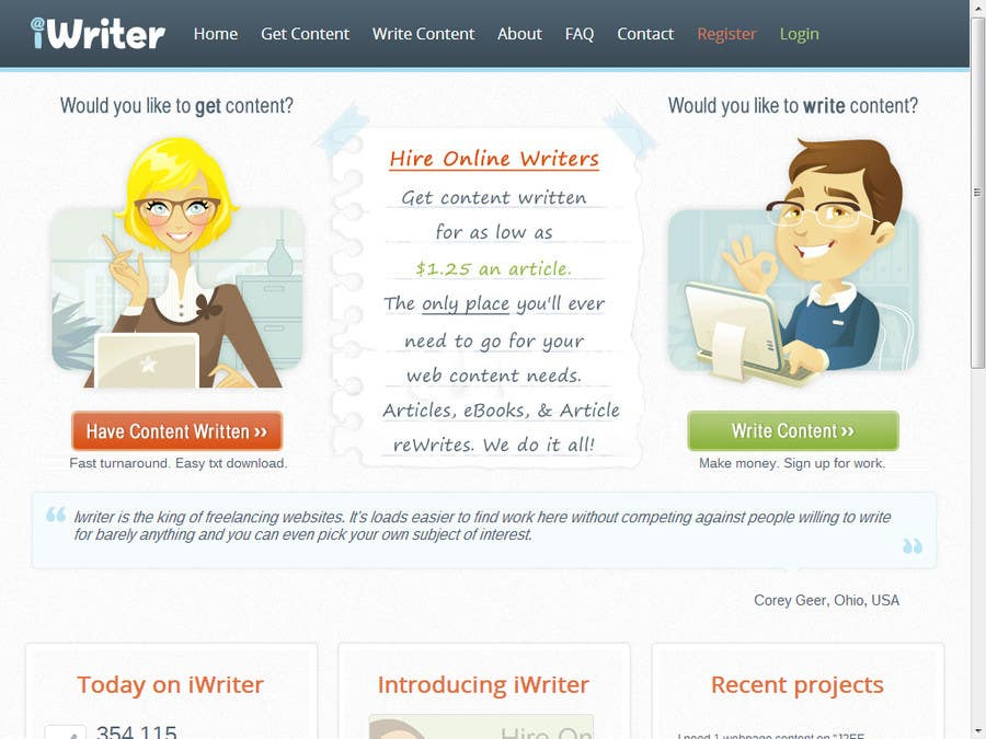 online writing site Learn how to earn money writing articles online review of 20 sites that pay upfront and performance based 20 sites that pay you to write articles online.