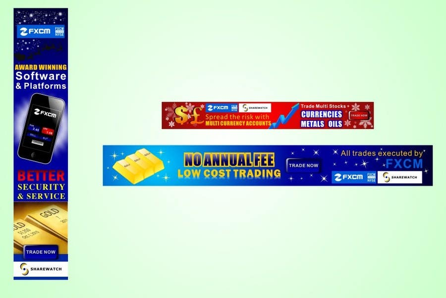 Bài tham dự cuộc thi #                                        33                                      cho                                         Banner Ad Design for Sharewatch