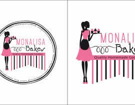 #4 for Logo Design for Monalisa Bakes by kashifawank