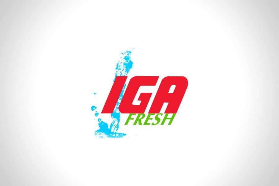 Конкурсная заявка №6 для Logo Design for IGA Fresh