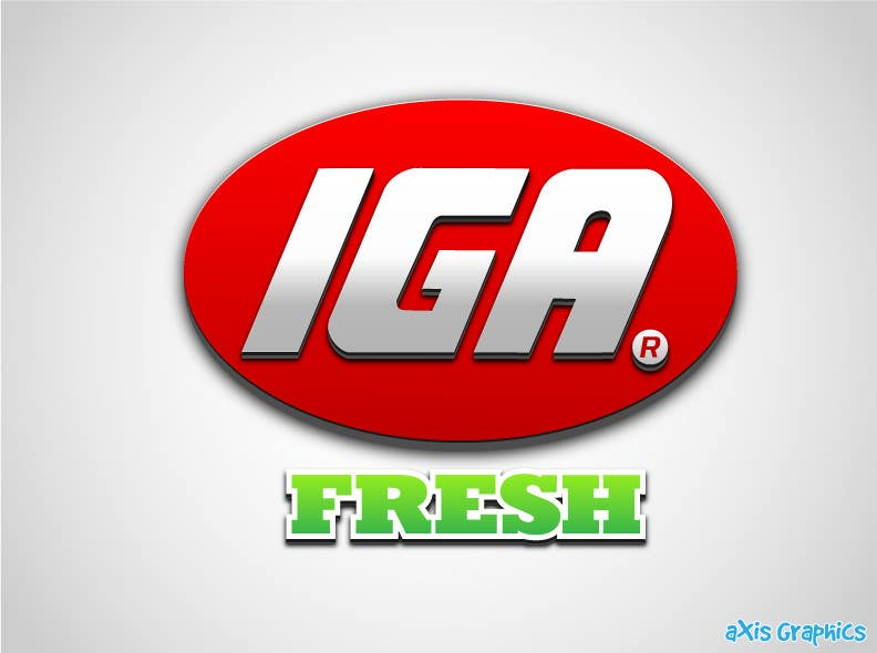#131 for Logo Design for IGA Fresh by arunbluez