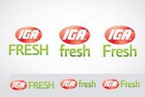 Graphic Design Inscrição do Concurso Nº60 para Logo Design for IGA Fresh
