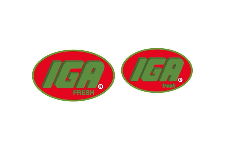 Inscrição nº 37 do Concurso para Logo Design for IGA Fresh