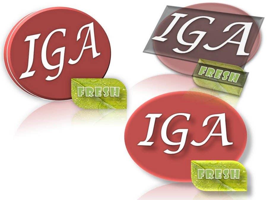 Inscrição nº 69 do Concurso para Logo Design for IGA Fresh