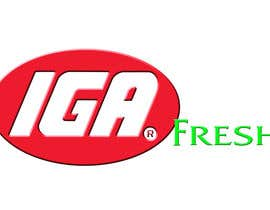 #153 for Logo Design for IGA Fresh af jkeeton