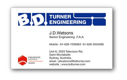 #18 for Design a Logo and business card for an Electrical Engineer by davidliyung