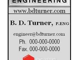 #11 para Design a Logo and business card for an Electrical Engineer por kattepain