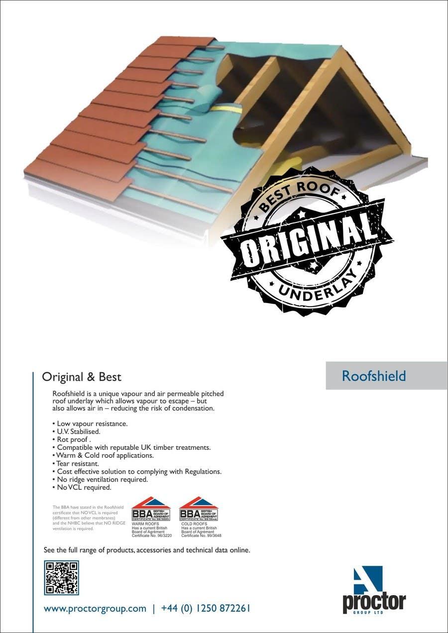Bài tham dự cuộc thi #                                        27                                      cho                                         Design an Advertisement for Roofshield 2