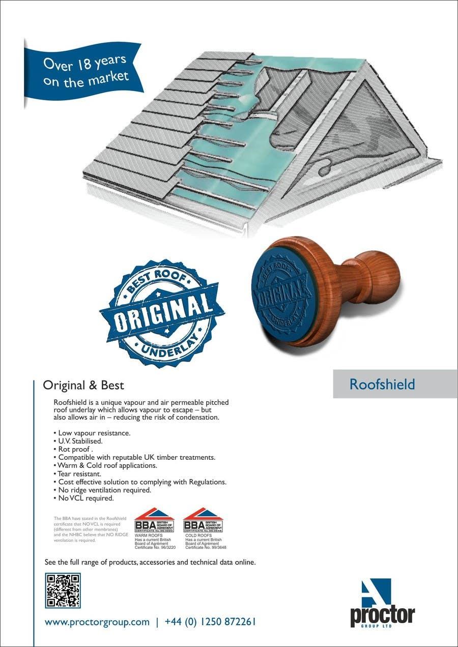 Bài tham dự cuộc thi #                                        47                                      cho                                         Design an Advertisement for Roofshield 2