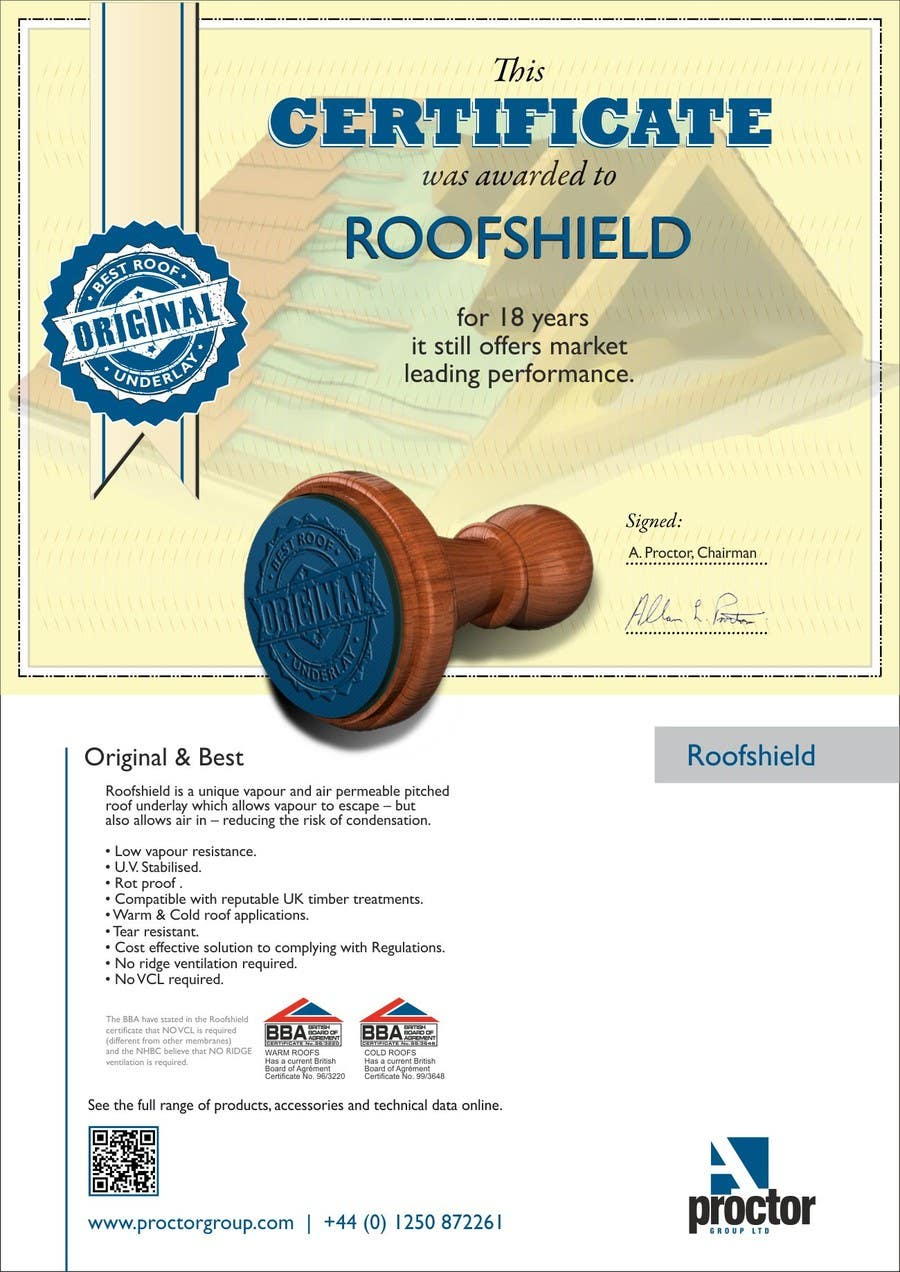 Bài tham dự cuộc thi #                                        49                                      cho                                         Design an Advertisement for Roofshield 2