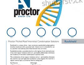 #55 for Design an Advertisement for Roofshield 2 af echobravo