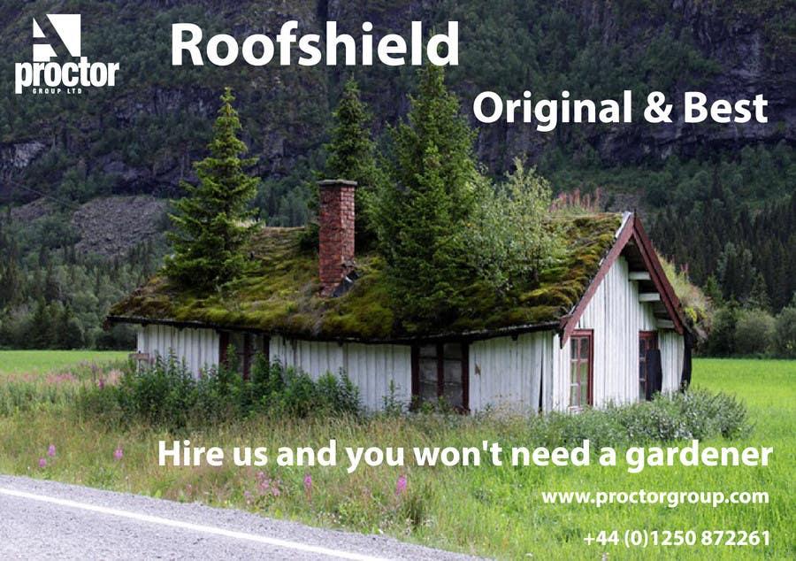 Bài tham dự cuộc thi #                                        11                                      cho                                         Design an Advertisement for Roofshield 2