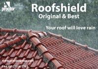Bài tham dự #9 về Advertisement Design cho cuộc thi Design an Advertisement for Roofshield 2