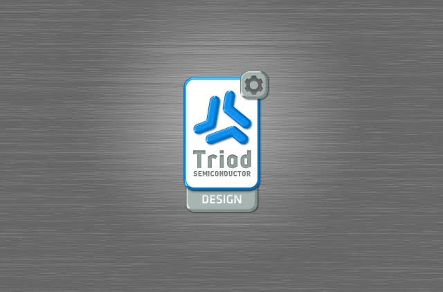 Kilpailutyö #347 kilpailussa Logo Design for Triad Semiconductor
