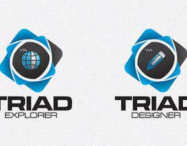 #160 para Logo Design for Triad Semiconductor por ezmode
