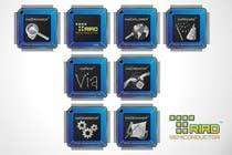 Graphic Design Kilpailutyö #340 kilpailuun Logo Design for Triad Semiconductor