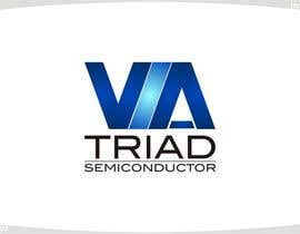#491 para Logo Design for Triad Semiconductor de innovys
