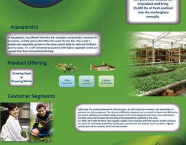 #29 pentru Business Poster for Green House Aquaponics de către HappyStudio