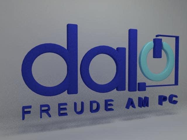 Design enhancement in 3D for DALO logo için 62 numaralı Yarışma Girdisi