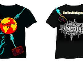 #8 для T-shirt Design for TheTechieGuy.com от kajoor62