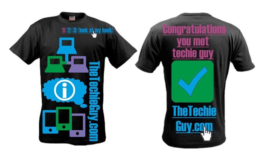 Inscrição nº                                         61                                      do Concurso para                                         T-shirt Design for TheTechieGuy.com