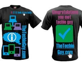 #61 для T-shirt Design for TheTechieGuy.com от zackushka