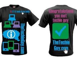 #61 cho T-shirt Design for TheTechieGuy.com bởi zackushka