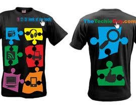#71 для T-shirt Design for TheTechieGuy.com от zackushka