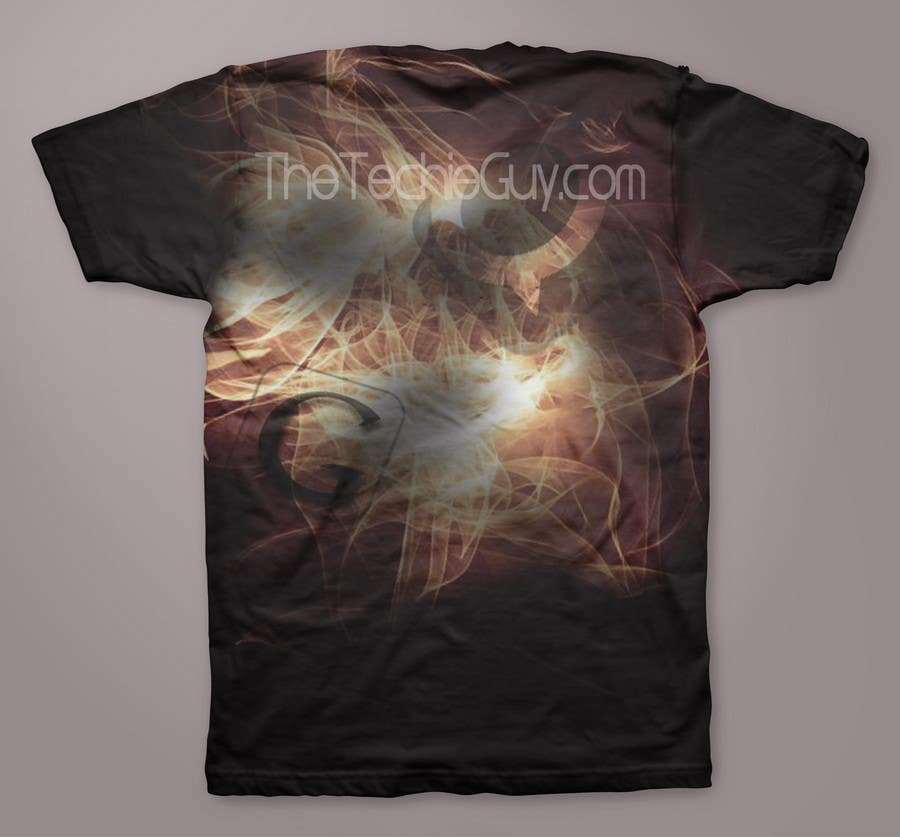 Конкурсная заявка №                                        14                                      для                                         T-shirt Design for TheTechieGuy.com
