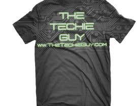 #34 para T-shirt Design for TheTechieGuy.com por SasquatchDesigns