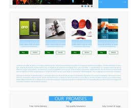 #17 para Homepage & Product Page Design & Logo Required por king5isher