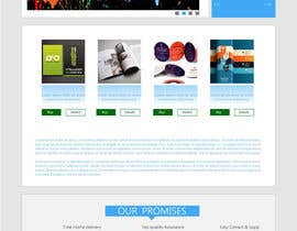 #18 for Homepage & Product Page Design & Logo Required af king5isher