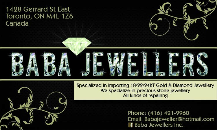 Contest Entry #30 for Design some Business Cards for Jewelry Store